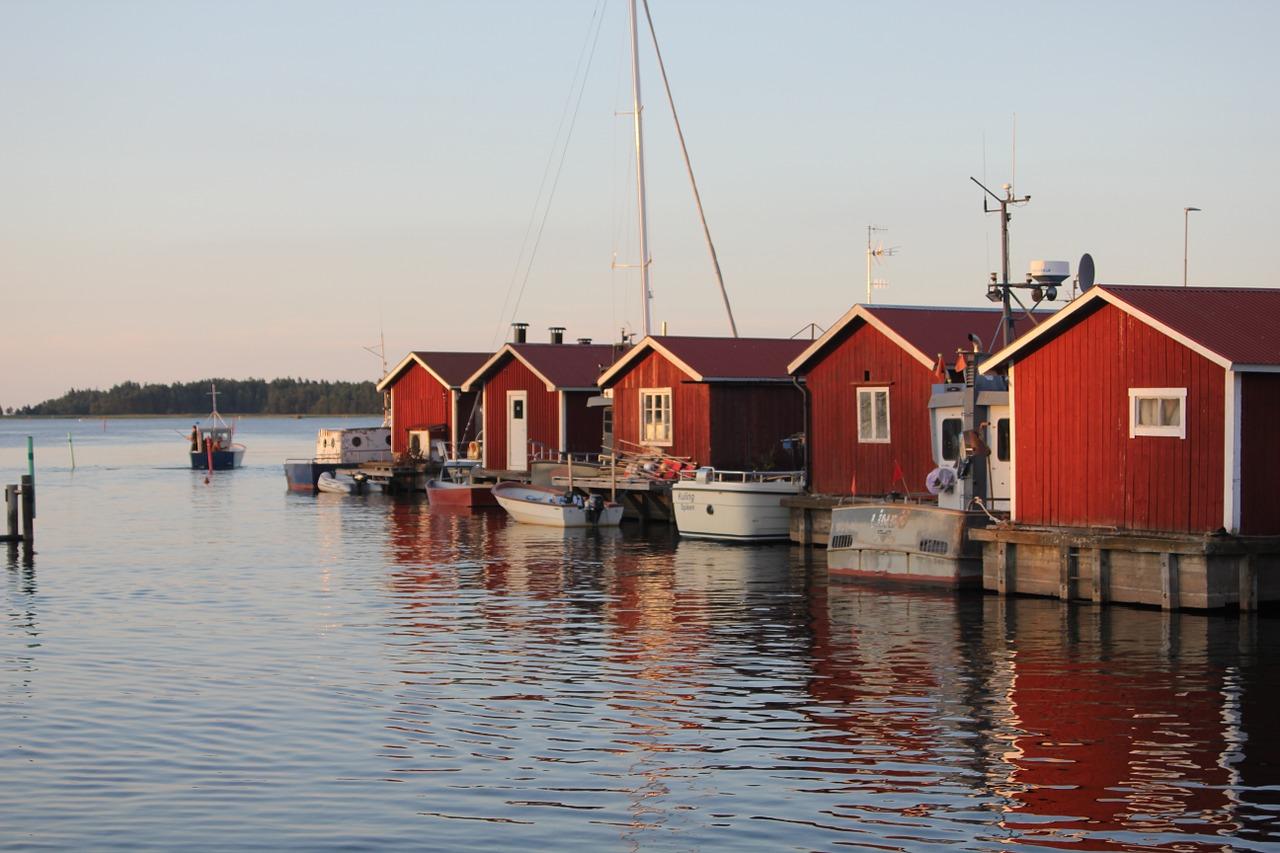 Schweden, Häuser (Bild: Onemadis, Pixabay)