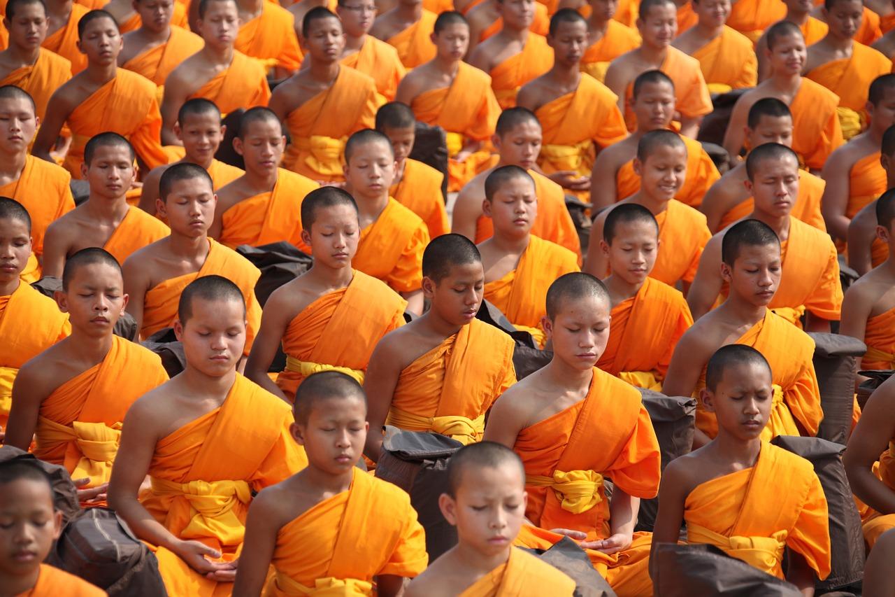 Thailand, Mönche (Bild: suc, Pixabay)
