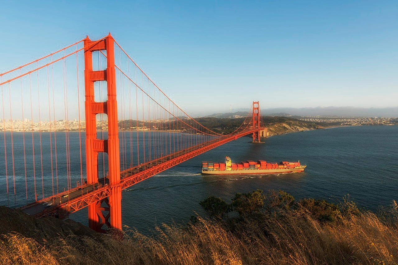 Golden Gate Bridge, San Francisco, USA (Bild: tpsdave, Pixabay)