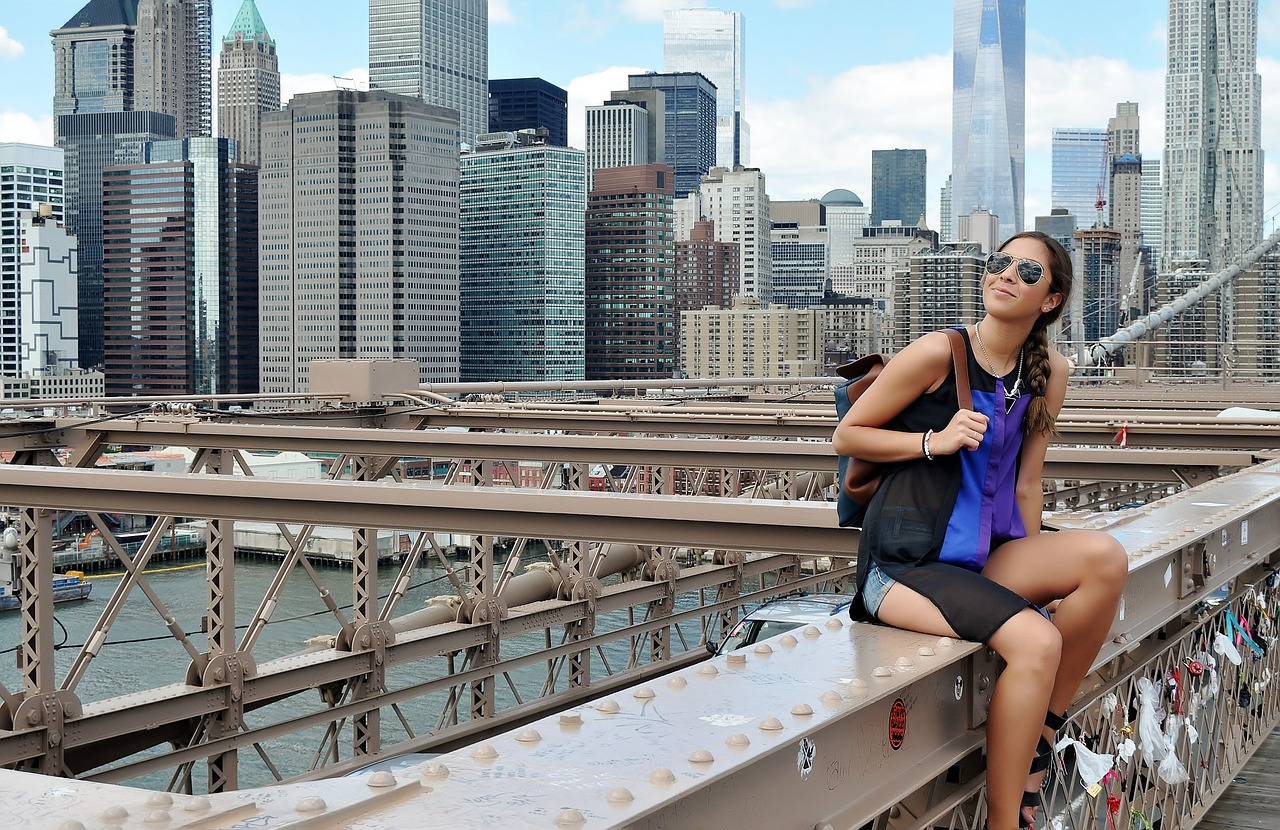 New York Singlereise Mädchen