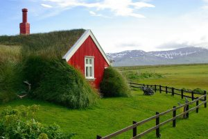 Haus in Island