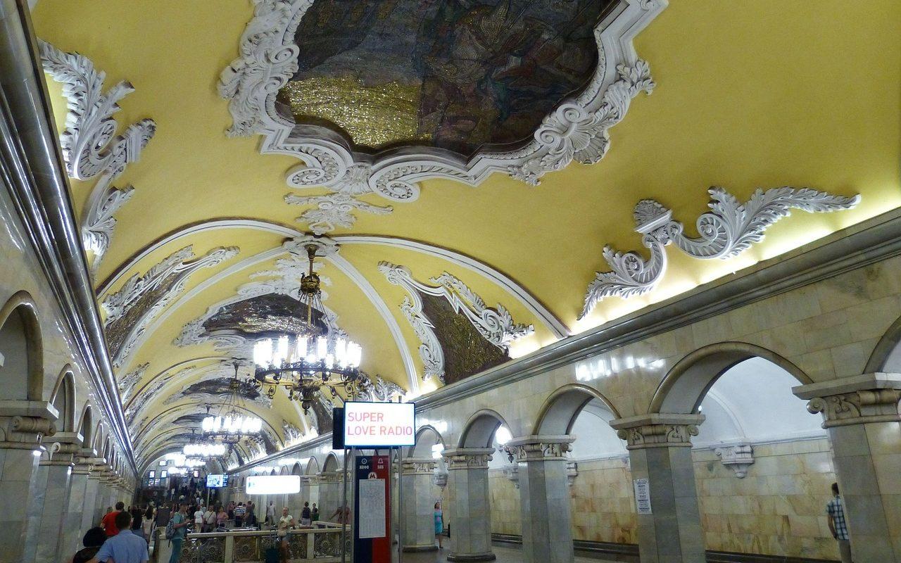 Russland, Moskau, Metro