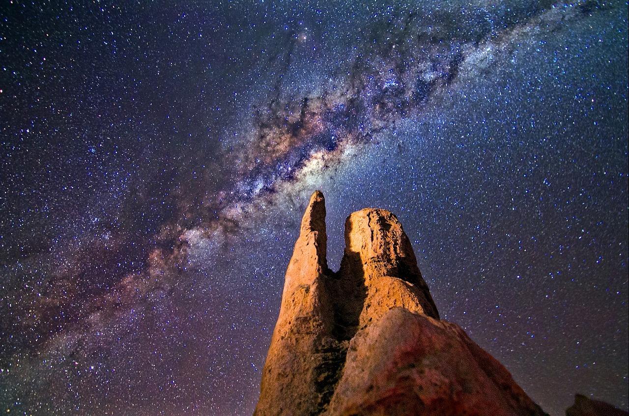 Australien, Sterne, Nacht, Nachthimmel