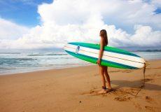 Surfing, Australien, Reisende