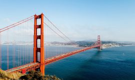 USA, Golden Gate Bridge, San Francisco