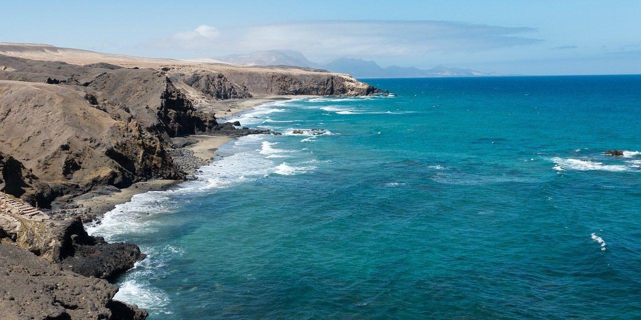 Fuerteventura, Küste, Breitbild