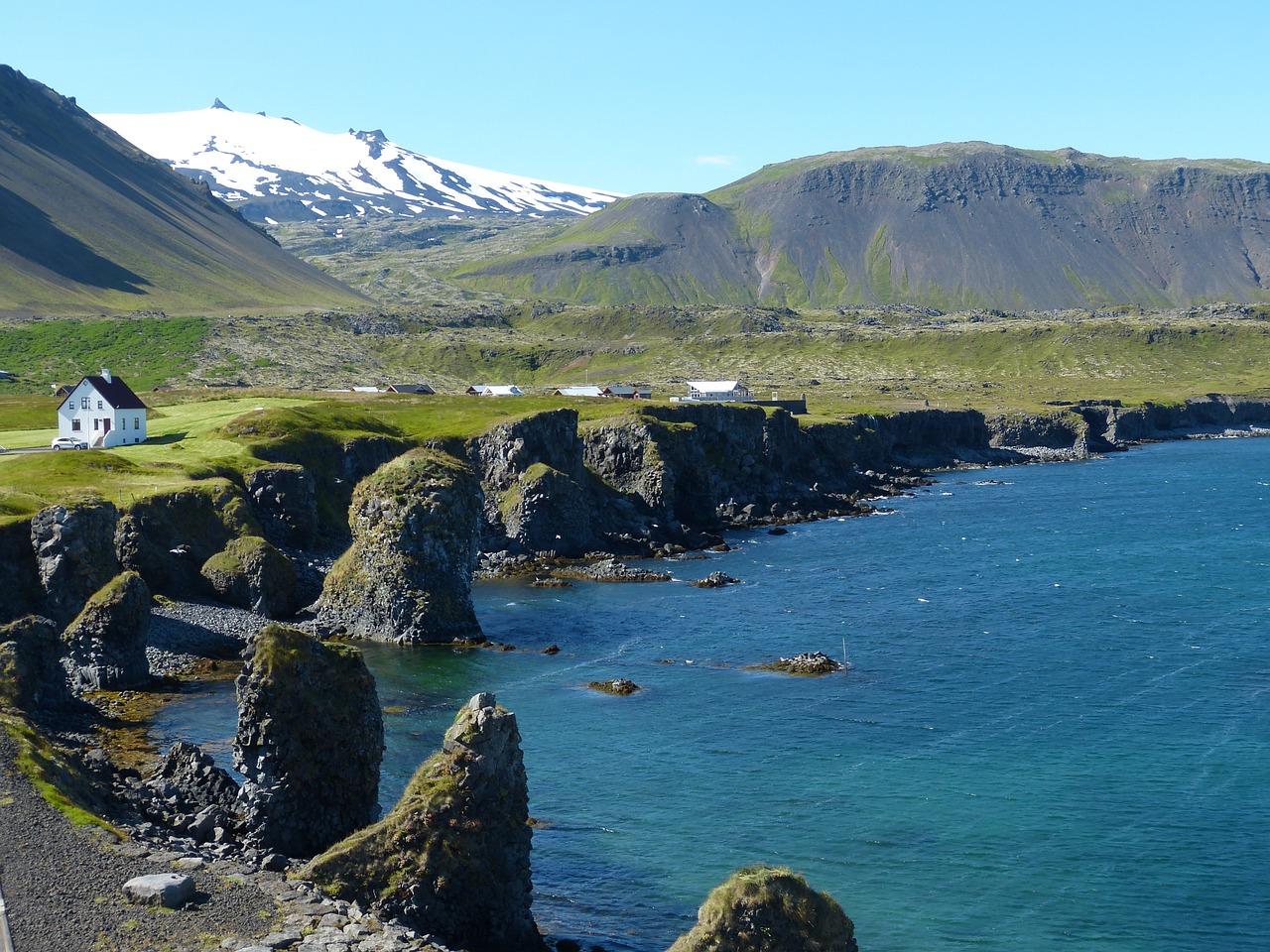 Island, Ferienhaus