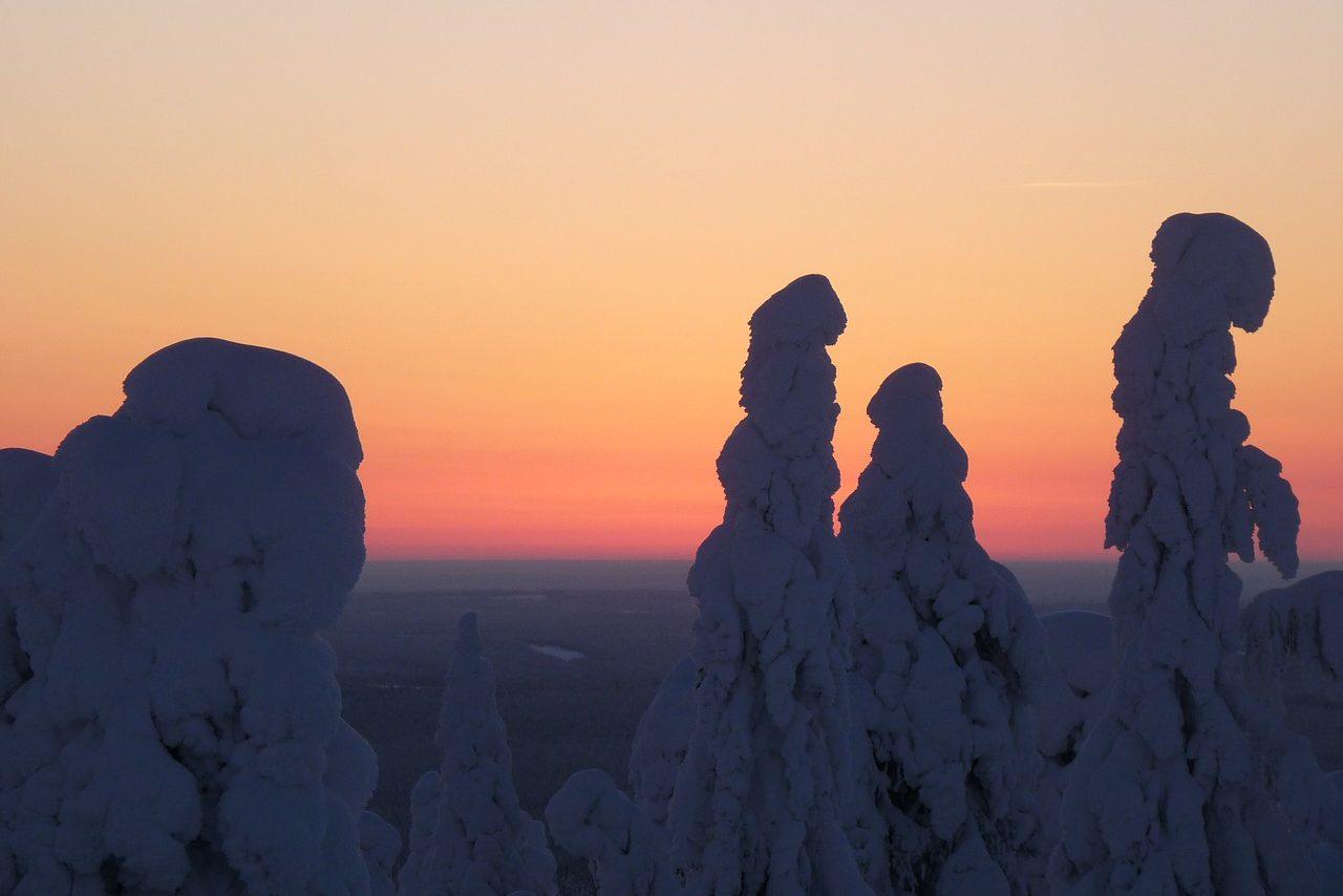 Lappland, Schnee, Winter