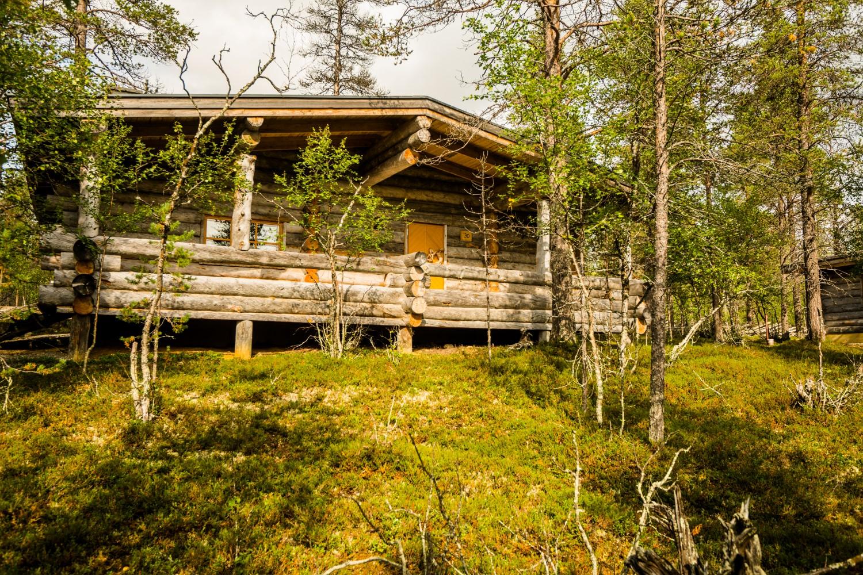 Hütte Finnland, Lappland (Bild © Kakslauttanen Arctic Resort)