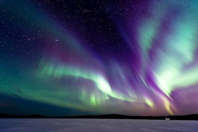 Nordlicht Finnland, Lappland (Bild © Kakslauttanen Arctic Resort)