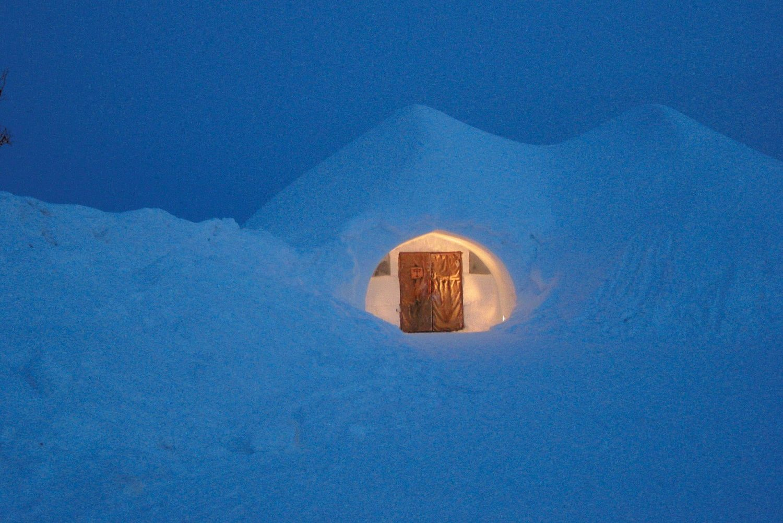 Iglu Finnland, Lappland (Bild © Kakslauttanen Arctic Resort)
