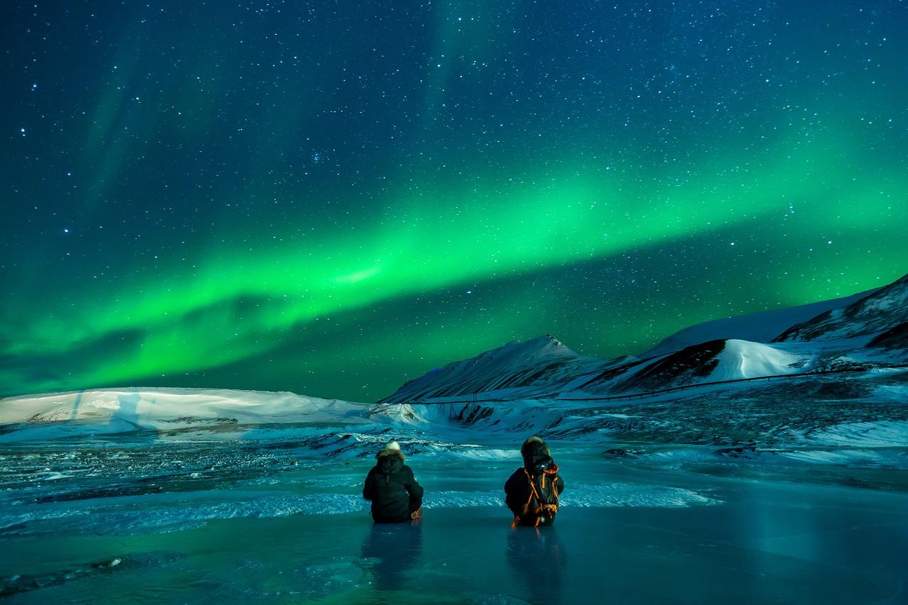 Arktis, Winter, Schnee