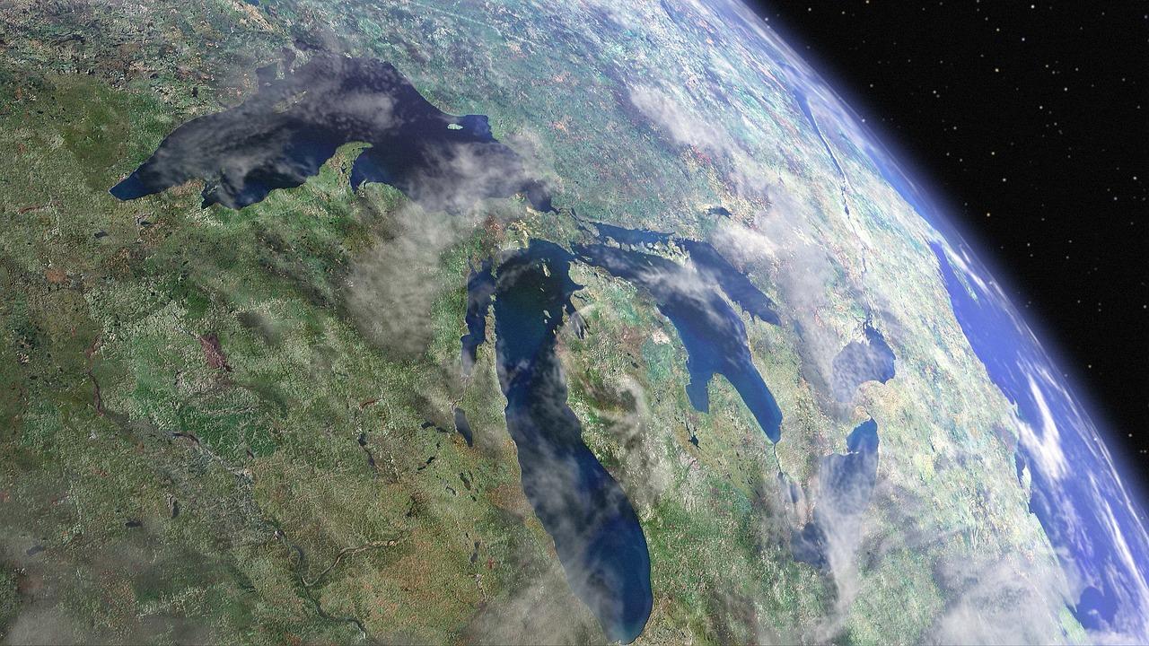 Erde, Welt, Horizont