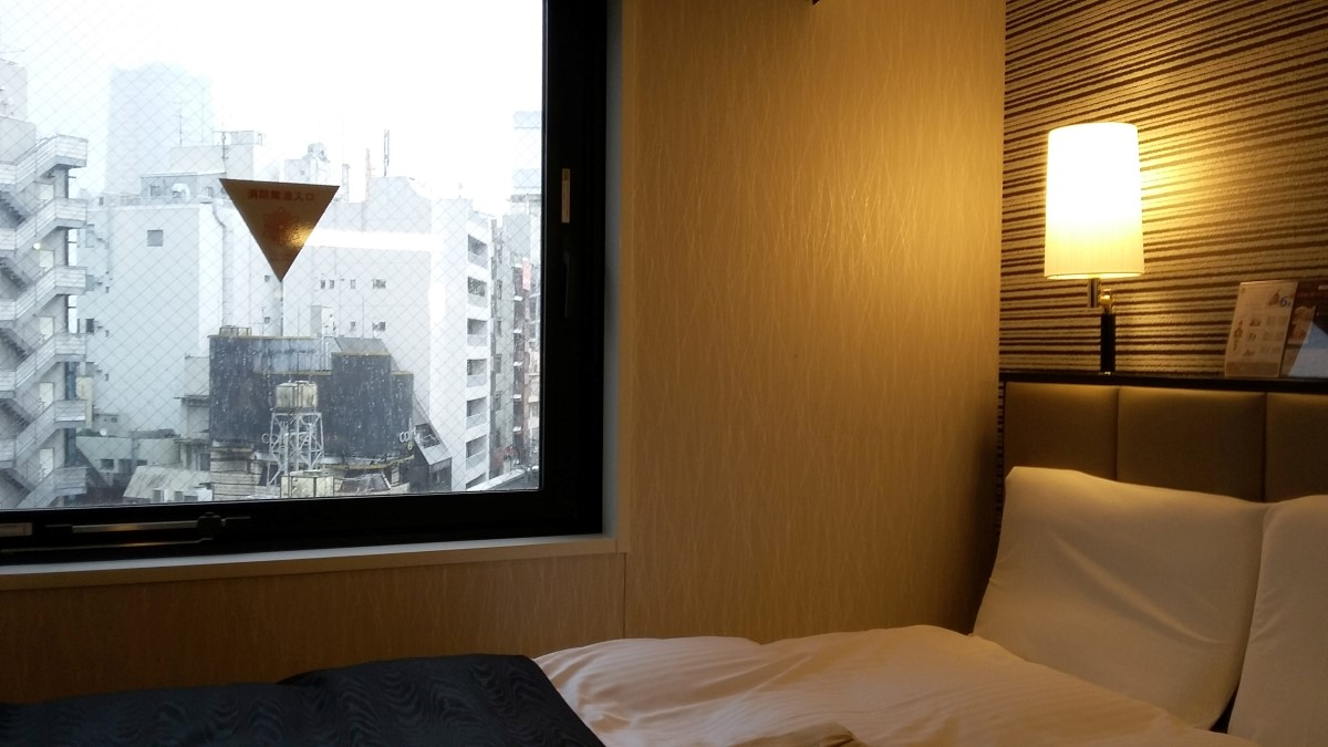 Zimmer im APA Hotel Roppongi-Ekimae in Tokio