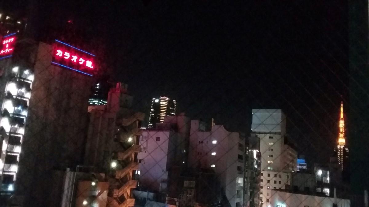 Ausblick im APA Hotel Roppongi-Ekimae in Tokio