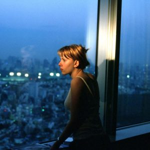 "Scarlett Johansson im ""Lost in Translation Hotel"""