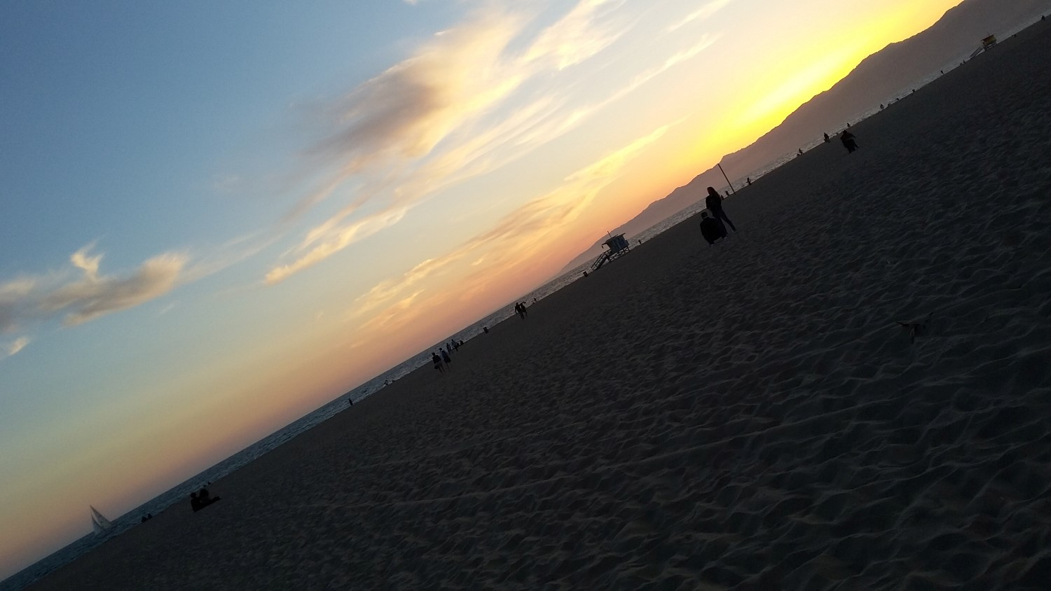 Venice Beach, Sunset