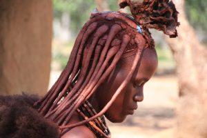 Namibia, Afrika, Frau