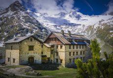 Österreich, Tirol, Hütte