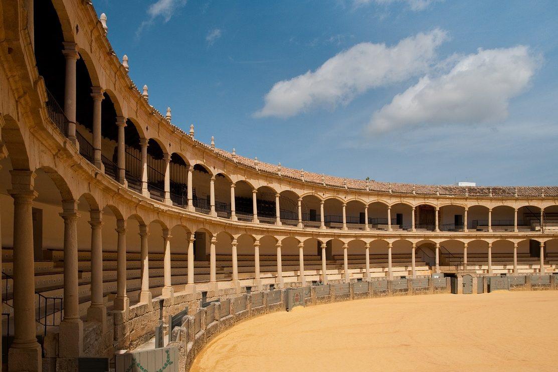Andalusien, Spanien, Stierkampfarena
