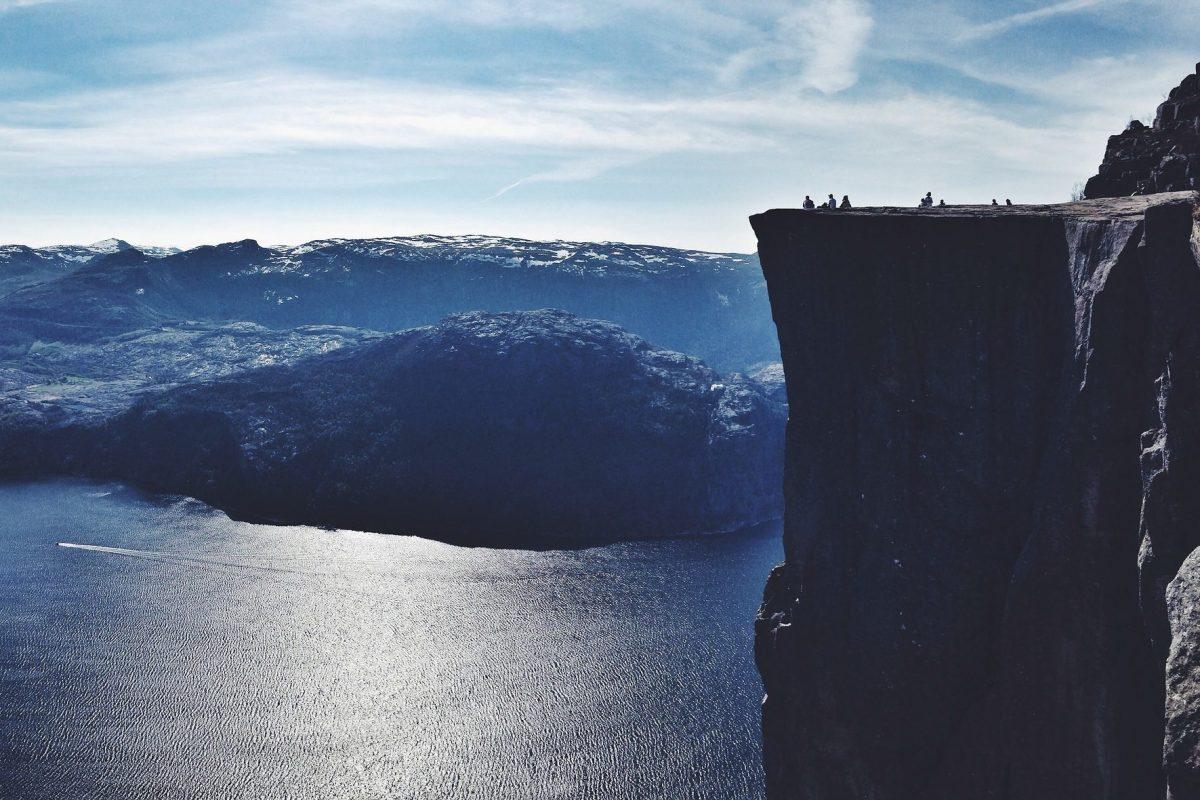 Norwegen – Norway, Felsen, Meer, Aussicht, Ausblick