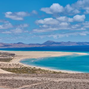 Fuerteventura, Spain, Costa Calma, Surf Camp, Beach, Sea, Clouds, Sky, View, Spain, Canary Islands, Dream Beach