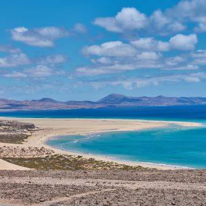 Fuerteventura, Spain, Costa Calma, Surf Camp, Beach, Sea, Clouds, Sky, View, Spain, Canary Islands, Dream Beach
