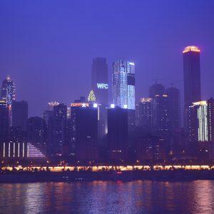 Chongqing, China, Stadt, Städtereise, Metropole, Die größte Stadt der Welt, Skyline, Wolkenkratzer, Hochhäuser