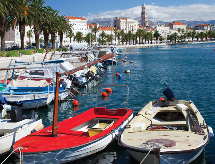One Week Sailing in Croatia: Dubrovnik to Split - Croatia Tour (Image Credit: Intrepid Travel)