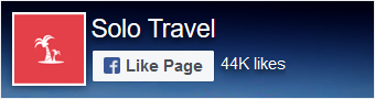 Solo Travel on Facebook