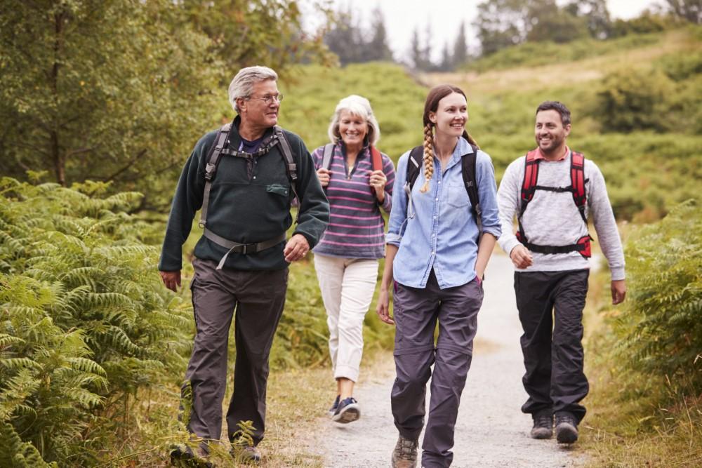 Wandern im idyllischen & reizvollen Spessart (Bild: Singlereisen.de)