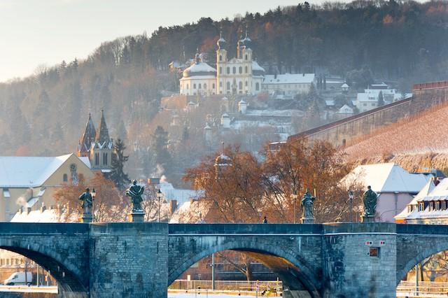 Weihnachten in der Weinregion Franken (Bild: Singlereisen.de)
